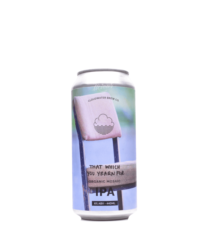 Cloudwater that which you yearn for single hopped organic mosaic IPA