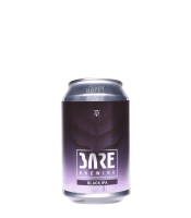 Bare Brewing black ipa can
